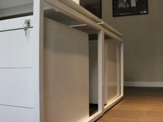 Allestimento uffici, Milano. Abitudinicreative Complesso d'uffici in stile minimalista