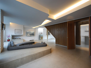 The Gables Patalab Architecture Salones de estilo moderno