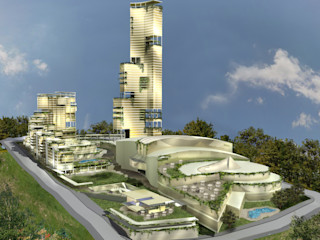 Bahçeşehir Merkez Kompleks Metin Hepgüler Ofisler ve Mağazalar