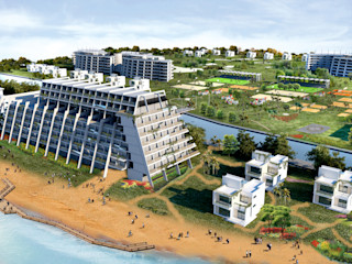 Ayyıldız Ada Projesi Metin Hepgüler Ofisler ve Mağazalar