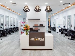 Salon Express Natasha Fowler Design Solutions Modern shopping centres