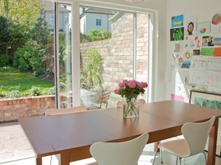 House remodelling in North Bristol Dittrich Hudson Vasetti Architects Modern dining room