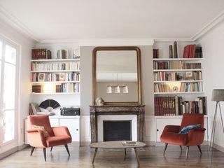 Yeme + Saunier Scandinavian style living room