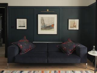 Flat Renovation, Aberdeen, Scotland ABN7 Architects Salones de estilo moderno