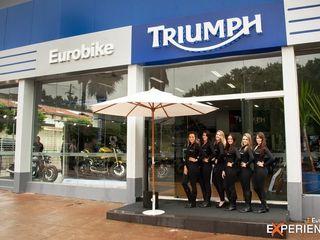Triumph Eurobike - Ribeirão Preto RICARDOTRAMONTINA.ART Concessionárias modernas