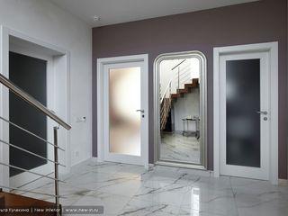 Ольга Кулекина - New Interior Classic style corridor, hallway and stairs