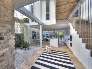 Modern Australian Beach Style Home Bella life Style Eclectic style corridor, hallway & stairs