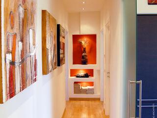 Studio Sabatino Architetto Couloir, entrée, escaliers modernes