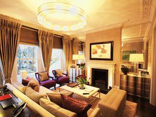 London Townhouse Perfect Integration Modern Living Room