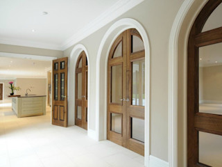 Beaconsfield Mansion Perfect Integration Modern Corridor, Hallway and Staircase