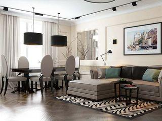 Павел Белый и дизайнеры Classic style living room