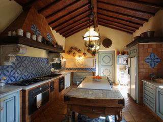 Architetto Giuseppe Prato Cocinas rústicas