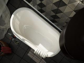 Interiors | Bathroom DesigniTures Phòng tắm phong cách kinh điển