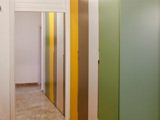FattoreQ fabbrica Couloir, entrée, escaliers originaux