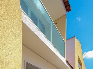 projeto - fachada residência01 Michele Balbine Fotografia Casas modernas
