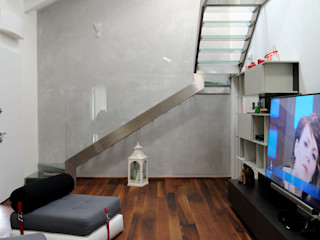 """""""Concepiamo sogni leggeri mai sognati"""" Polymorpha Design for Living Soggiorno moderno"""