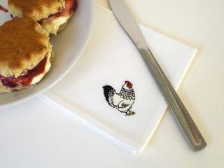 Mr & Mrs Chicken Kate Sproston Design HogarTextiles