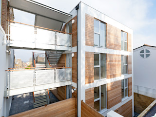 Gipsy Hill Granit Architects Industrial style houses