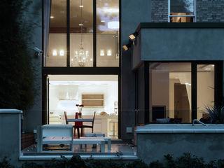 Thurlow Road 2 KSR Architects Modern Houses