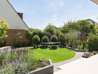 Broadgates Road Granit Architects Modern garden