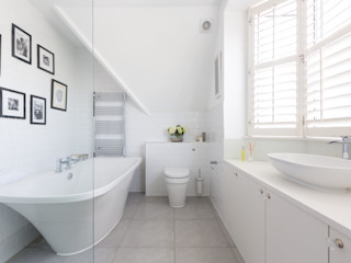 Broadgates Road Granit Architects Minimalist style bathroom