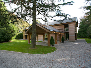 Cedarwood Tye Architects Eclectic style houses