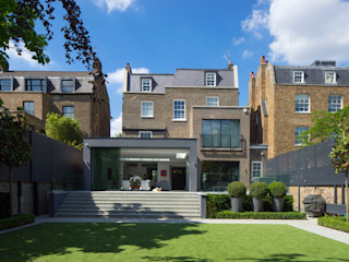 Hamilton Terrace KSR Architects Modern Houses