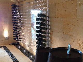 Ivan Torres Architects Ruang Penyimpanan Wine/Anggur Minimalis