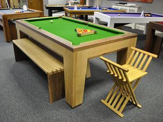 Spartan Pool/Dining Table Designer Billiards Dining roomTables