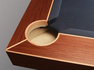 'The Arc', 8 ft American Pool Table Designer Billiards Multimedia roomFurniture