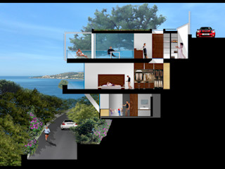 Studio 4 Minimalist houses