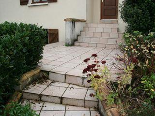 Rénovation escalier accès principal ART PAYSAGE