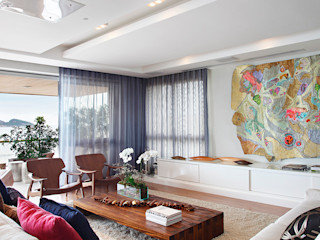 Cadore Arquitetura Ruang Keluarga Modern