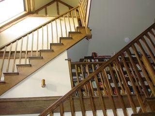 Churchill Heath Farm BLA Architects Country style corridor, hallway& stairs