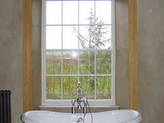Churchill Heath Farm BLA Architects Country style bathroom