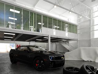 arquitecto9.com Klasik Garaj / Hangar