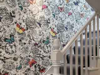 Friern Road, London Red Squirrel Architects Ltd Koridor & Tangga Modern