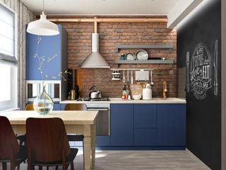PlatFORM Scandinavian style kitchen