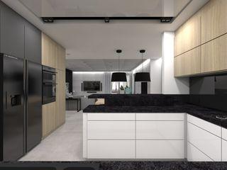 BAGUA Pracownia Architektury Wnętrz Кухня