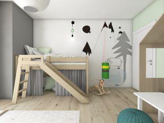 BAGUA Pracownia Architektury Wnętrz Дитяча кімната