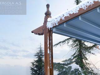 PERGOLA A.Ş. minimalist style balcony, porch & terrace