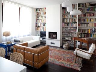 Ristrutturazione appartamento a Milano 80 mq HBstudio SoggiornoCamini & Accessori