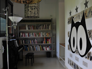Emanuela Orlando Progettazione Modern Study Room and Home Office