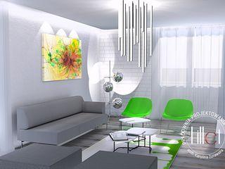Pracownia projektowa Atelier Lillet Salas de estilo moderno