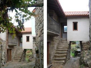 arquitectura SEN MÁIS Nhà phong cách đồng quê