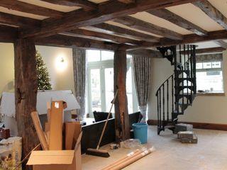 Barn Conversion Vanessa Rhodes Interiors غرفة المعيشة