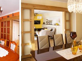 Wnętrze w stylu klasycznym w Lęborku Ewa Weber - Pracownia Projektowa