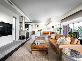 Designer Costal Home D-Max Photography Modern living room