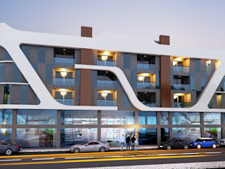 MİNERVA MİMARLIK Edificios de oficinas de estilo moderno