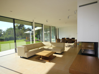 KARL+ZILLER Architektur Salas de estar modernas